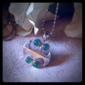 Vintage Sterling Kultaseppa Salovaara Necklace